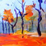 Painting Orangewoods