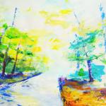 Painting Freelane, 50 x 65 cm