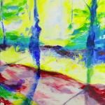 Painting Hishadow, 80 x 40 cm
