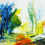 Painting Shadover, 50 x 65 cm